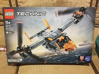 (LIGHT WEAR, US SELLER) New, Sealed Lego Technic 42113 Bell Boeing V-22 Osprey