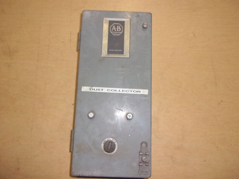 USED ALLEN BRADLEY ELECTRICAL ENCLOSURE BOX 709-AAB43 FREE SHIPPING