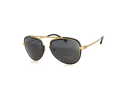 Versace 2193 142887 Tribute Gold Black Gray  Sunglasses