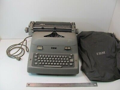 Ibm Model B Electric Typewriter Works