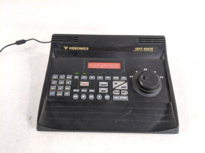 Videonics AB-1 NTSC Digital Video Mixer A/B Roll Edit Controller Bundle MX-1