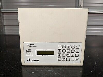 Mve Tec 2000 Cryogenic System Monitor Wo Power Supply 30 Day Guarantee