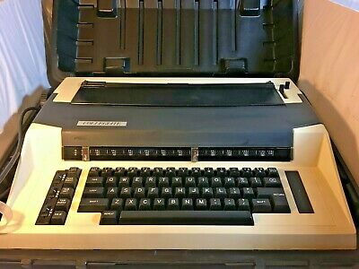 Vintage Swintec Collegiate Electric Typewriter With Hard Case