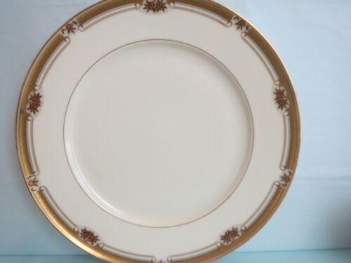 "Vintage MIKASA ""Kingsford"" Fine Ivory Gold Trimmed China DINNER PLATE 11"" Japan"