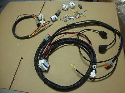 NEW 2002 BIG DOG MOTORCYCLES MAIN WIRING HARNESS W/SUB HARNESS & CONNECTORS