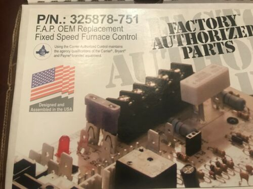 NEW - Carrier Bryant Payne - 325878-751 Control Circuit Board
