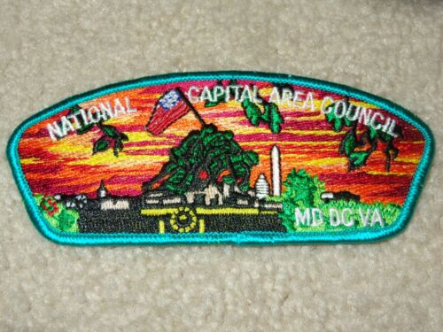 Boy Scout National Capital Area Council Strip 18 Marine Corps Iwo Jima CSP Patch