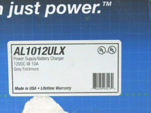 Altronix AL1012ULX Power Supply Charger Single Fused Output [CTA]