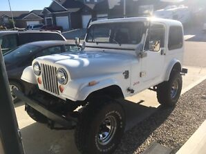 1984 Jeep CJ7 ... Fibreglass