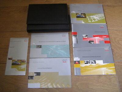 AUDI A3 OWNERS MANUAL HANDBOOK SET 1996 - 2003. FREE UK POSTAGE