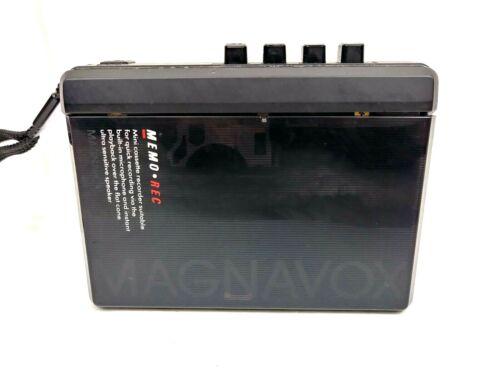 Magnavox D6290/17X Handheld Portable Cassette Recorder Small Format