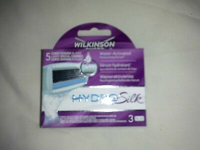 Wilkinson Sword Hydro Silk 3 Pack Genuine
