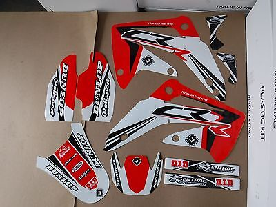 FLU DESIGNS PTS3 TEAM GRAPHICS  HONDA CR85R   CR85  CR85RB