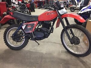 1979 XR 500 with road legal ownership