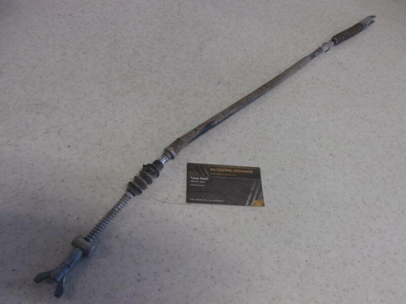 1999 2000 2001 2002 Kawasaki KVF400C Prairie 4X4 Rear Hand Brake Cable