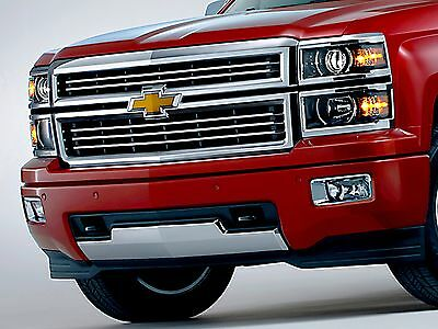 Chrome High Country Grille 2014 2015 Silverado 1500 Real OEM GM Parts 23259619