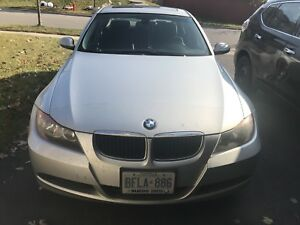 BMW 323i 2006 silver clean single driven