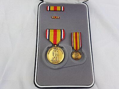 Selected Marine Corps Reserve Medal Original US Orden im Etui SONDERSET Ribbon