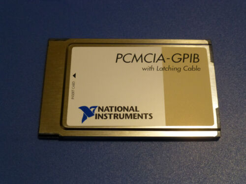 National Instruments PCMCIA-GPIB Interface Card 186736C-01