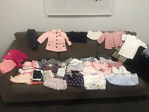 Baby clothes (over 50 items), size newborn to about 18 months. Highton Geelong City Preview