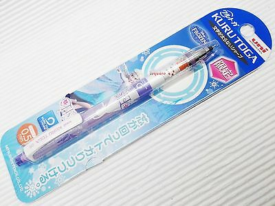 Limited Uni-ball Disney Frozen Elsa Kuru Toga 0.5mm Mechanical Pencil