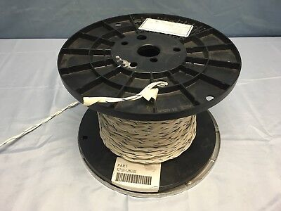 115 Ft Mil-spec M27500-12mh2u00 Twisted-pair Tin Plated Copper 12 Awg Cable Wire