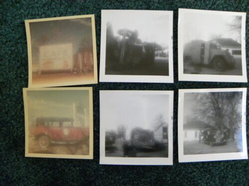6 Personal Snap Shots from Texas Location BONNIE AND CLYDE  MOVIE PHOTO 1967
