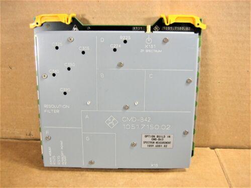 R&S Spectrum Measurement Module 1051.7180.02