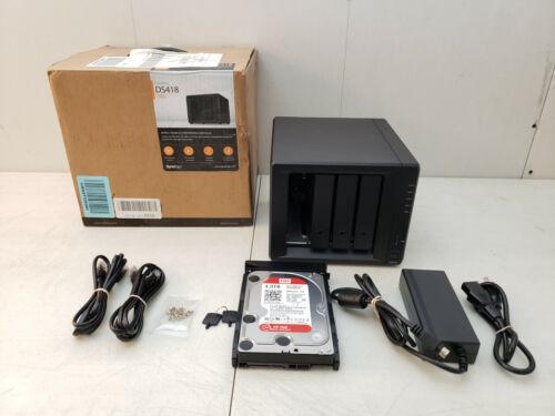 Synology 4 Bay NAS Diskstation DS418 1x4TB HDD SATA