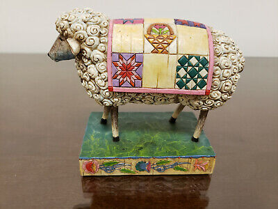 2003 Jim Shore PEACE IN THE VALLEY Sheep Figurine Heartwood Creek (Valley Sheep)