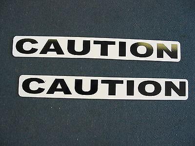 Caution Magnetic Sign 4 Car Truck Badge Police K-9 Fire K9 Van Suv Security Ems