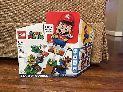 LEGO Super Mario Adventures Mario Starter Course 71360 Brand New Ships Same Day