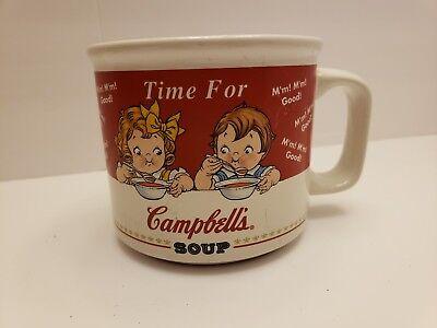 Campbell Kids Soup Mug Bowl Time For Campbell's Soup M'M! M'M! Good! 1998 HH