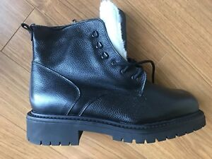Le Canadienne Winter boots for men, size 13
