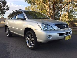 2006 LEXUS RX400H LUXURY 4WD HYBRID ONLY 132,000KM LONG REGO Camden Camden Area Preview