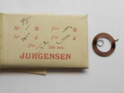 RARE MAINSPRING FOR VERY THIN HIGH GRADE POCKET WATCHES NEW WATCH MOVEMENT PART for sale  Shipping to India