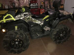 2016 can am outlander 1000 XMR 3200kms with warranty