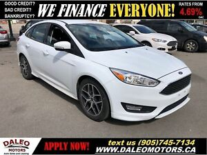 2017 Ford Focus SE | BACKUP CAM | HEATED SEATS | BLUETOOTH