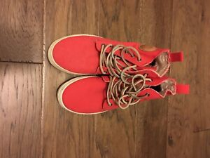Red Blackstone sneakers for sale - never worn