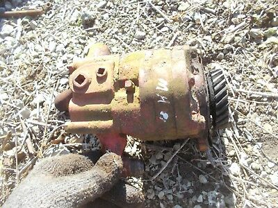 Massey Harris 81 Tractor Mh Hydraulic Pump Assembly
