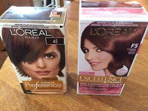 Deux teintures de cheveux  L'Oréal Paris