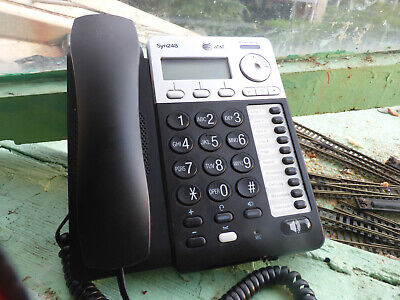 Att Sb35025 Syn248 Corded Deskset Phone For Analog Gateway System
