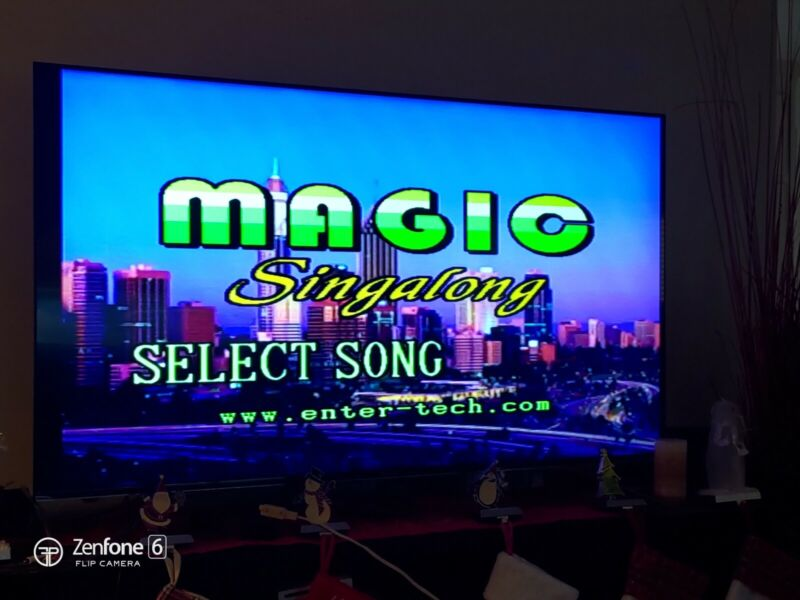 MAGIC SING Enter Tech Multimedia & Microphone System Player, Older Model, w/ Bag