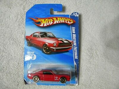 HOT WHEELS 2010 HW FASTER THAN EVER 4/10 07 FORD MUSTANG FASTBACK  L