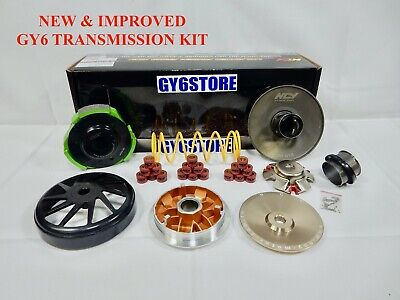 150cc GY6 NCY PERFORMANCE SUPER TRANSMISSION KIT FOR SCOOTERS *NEW & UPGRADED*
