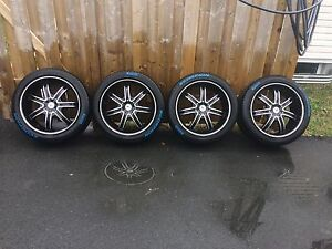 20x8.5 Chrysler 300,Charger, Challenger rims and tires