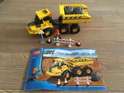 Lego City Tipper Truck Set 4434 Complete Instructions Toys