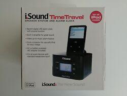 iSound TimeTravel Speaker System and Alarm Clock iPod Dock DGIPOD-374