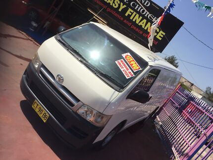 Turbo diesel Toyota HIACE  Lansvale Liverpool Area Preview
