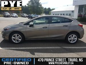2018 Chevrolet Cruze LT - ONLY 2,300KMS - BACKUP CAMERA + WIFI!